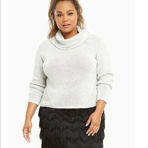 Torrid Size 2 2x cowl neck sweater nwt